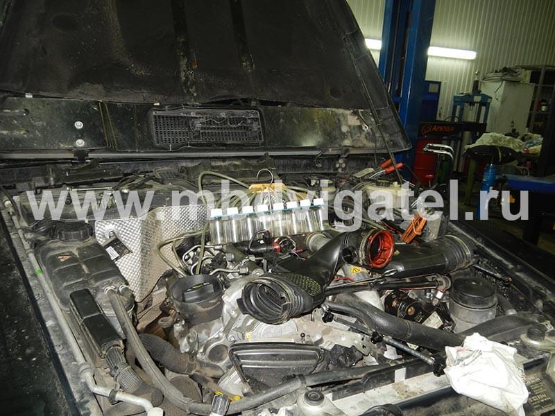 диагностика дизельных двигателей мерседес