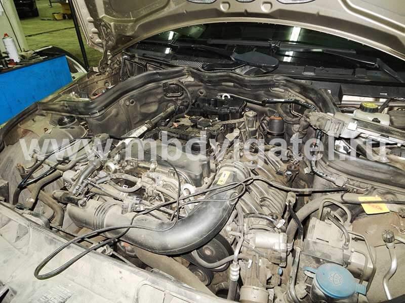 шумный двигатель 271.9 мерседес