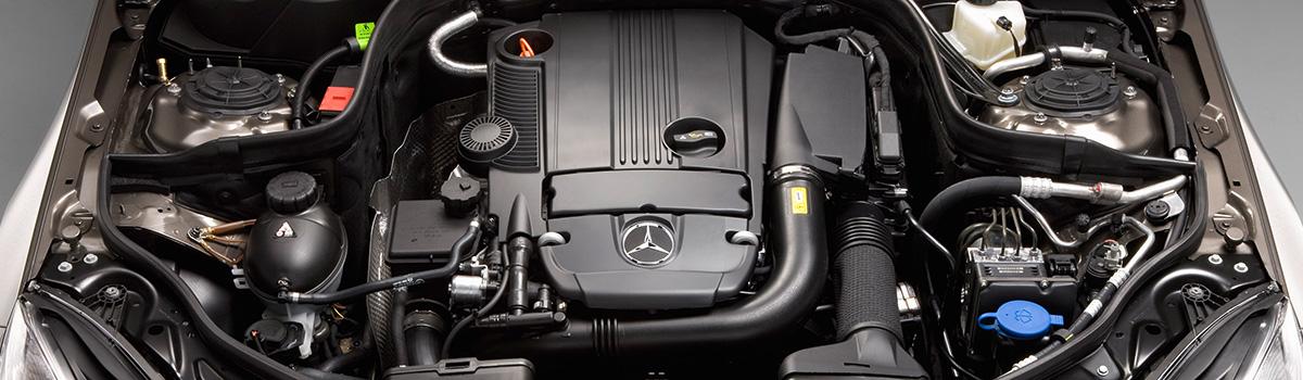 Какой двигатель в мерседесе